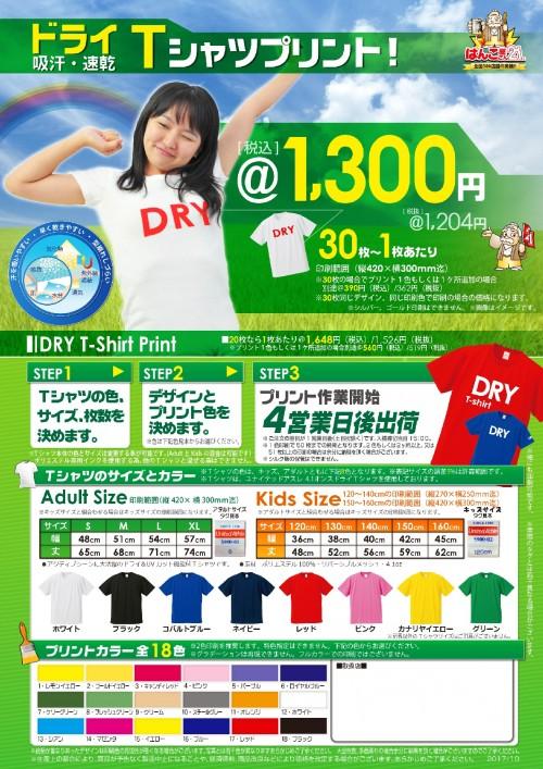 DRYTシャツ1